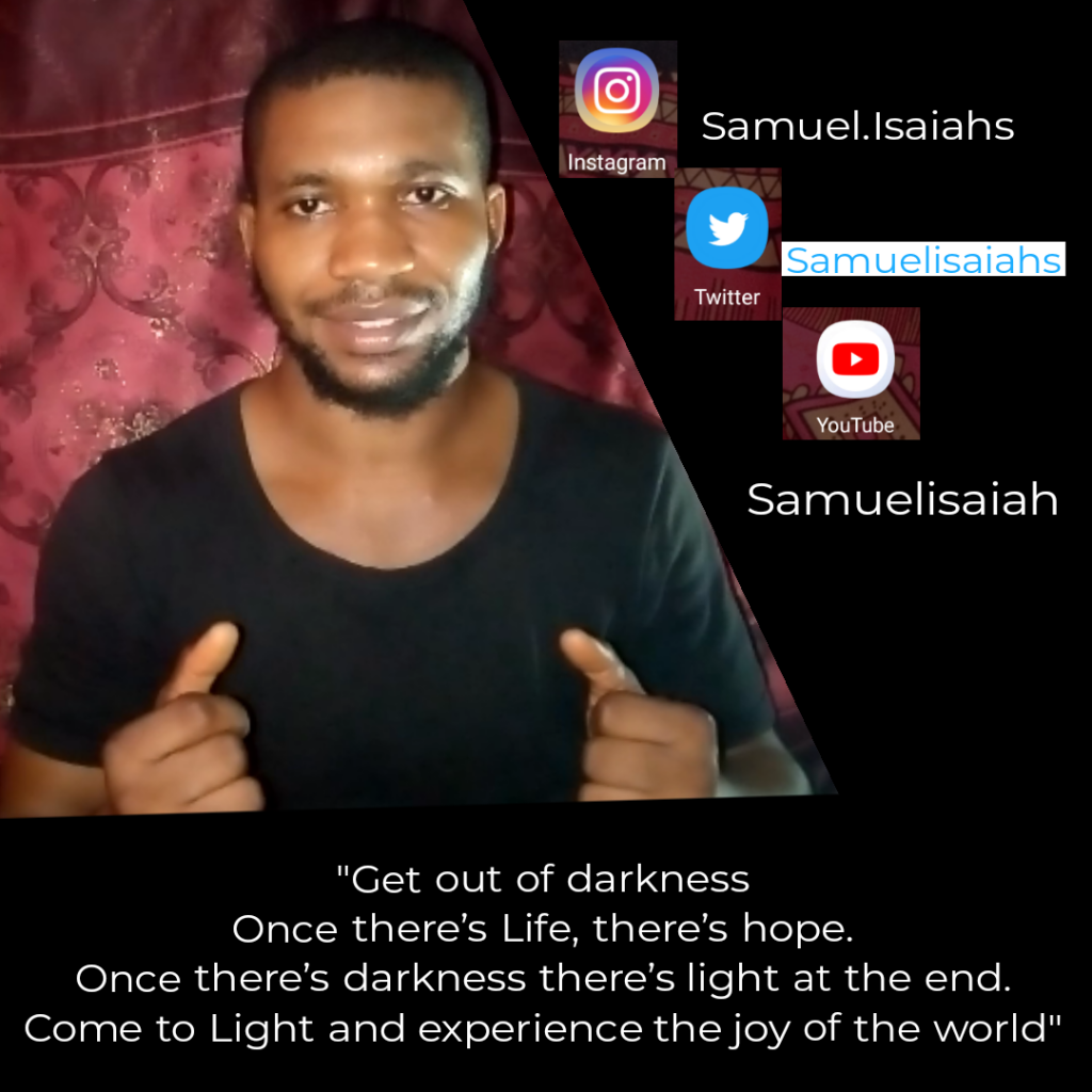 Get out of darkness